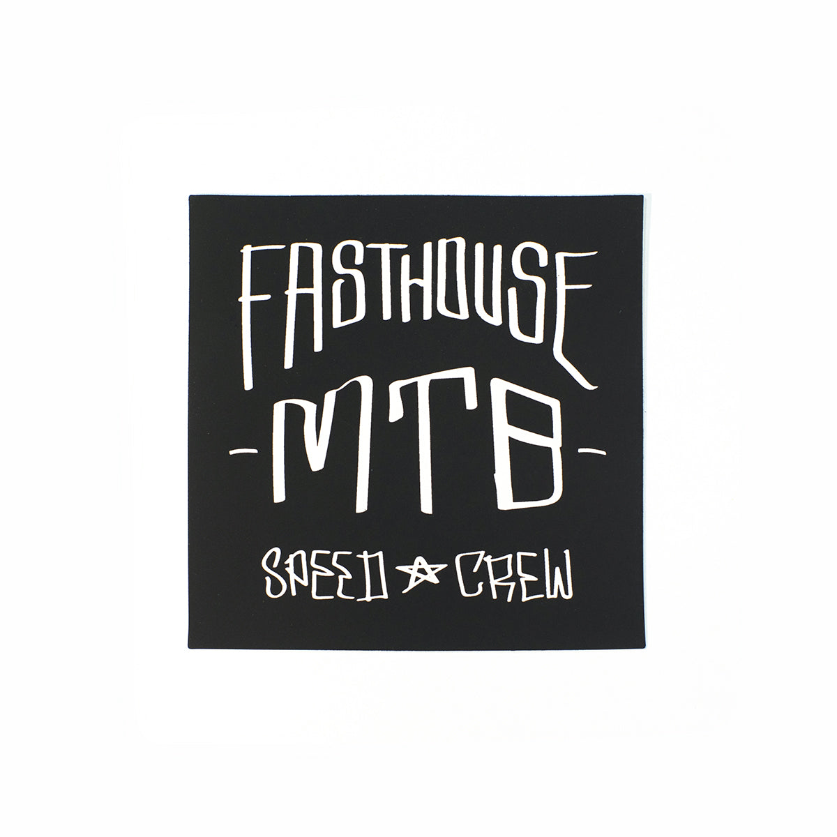Fasthouse - MTB Crew Sticker