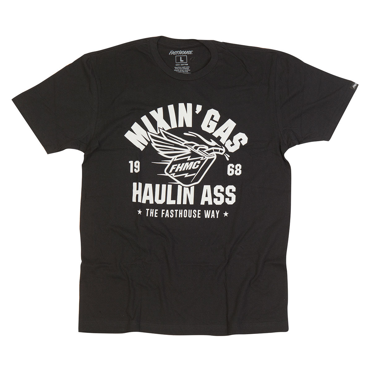 Fasthouse - Mixin Gas Tee - Black