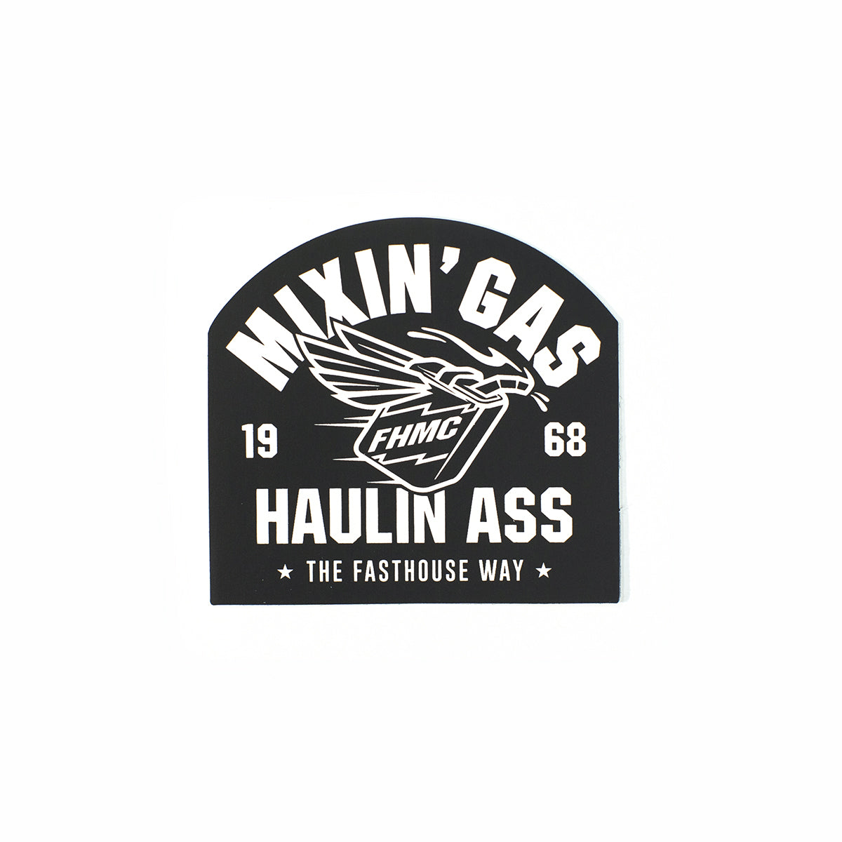Fasthouse - Mixin' Gas Sticker