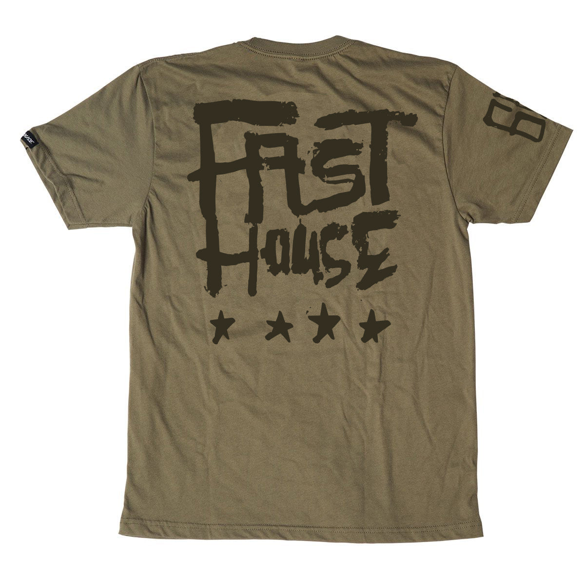 Fasthouse - Nelson Tee - Military Green