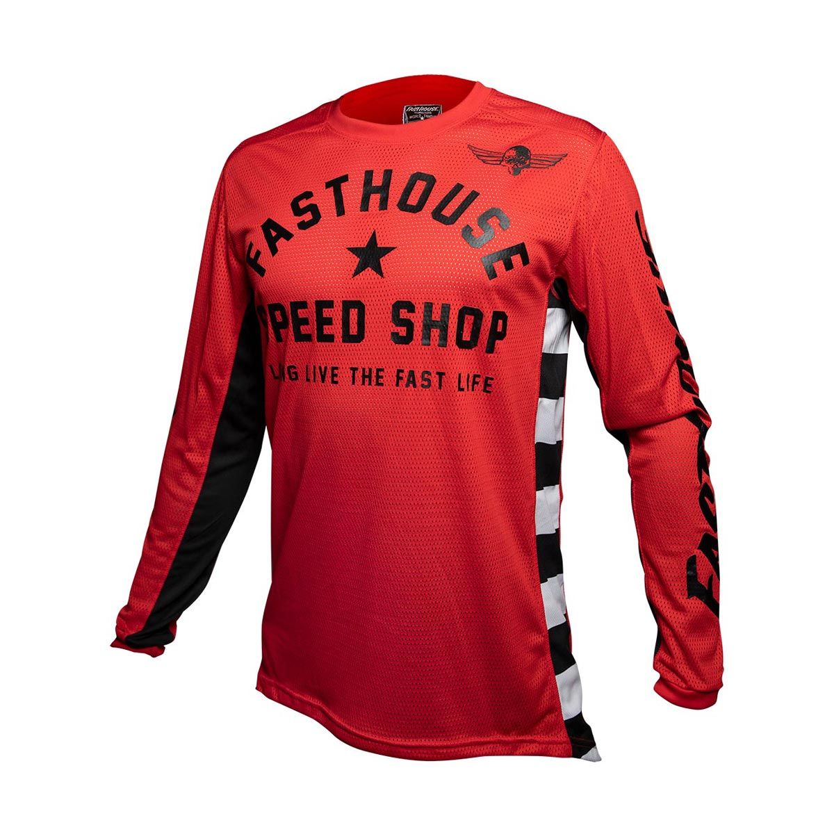 Fasthouse - Originals Air Cooled L1 Youth Jersey - Red