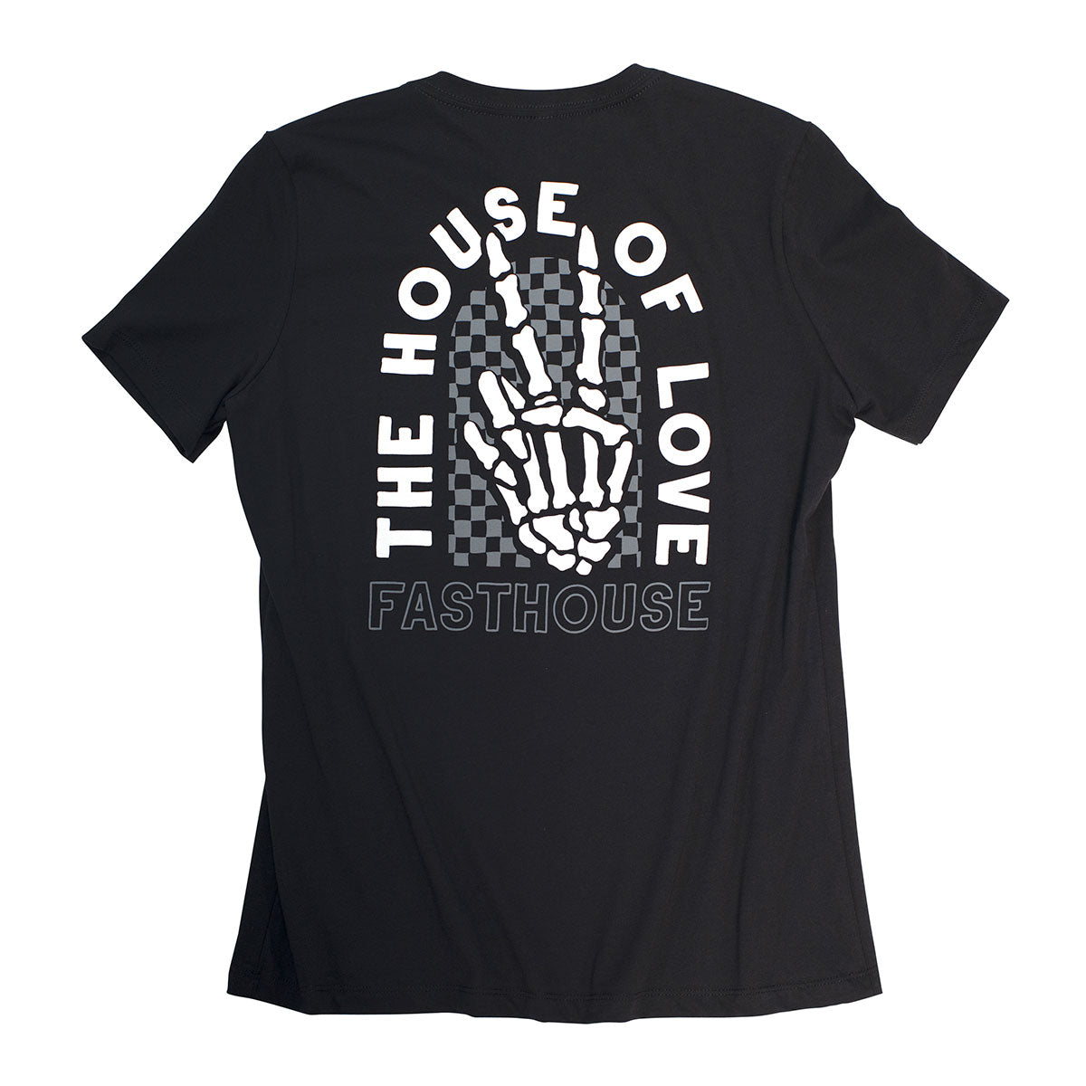 Peace & Love Women's Tee - Black
