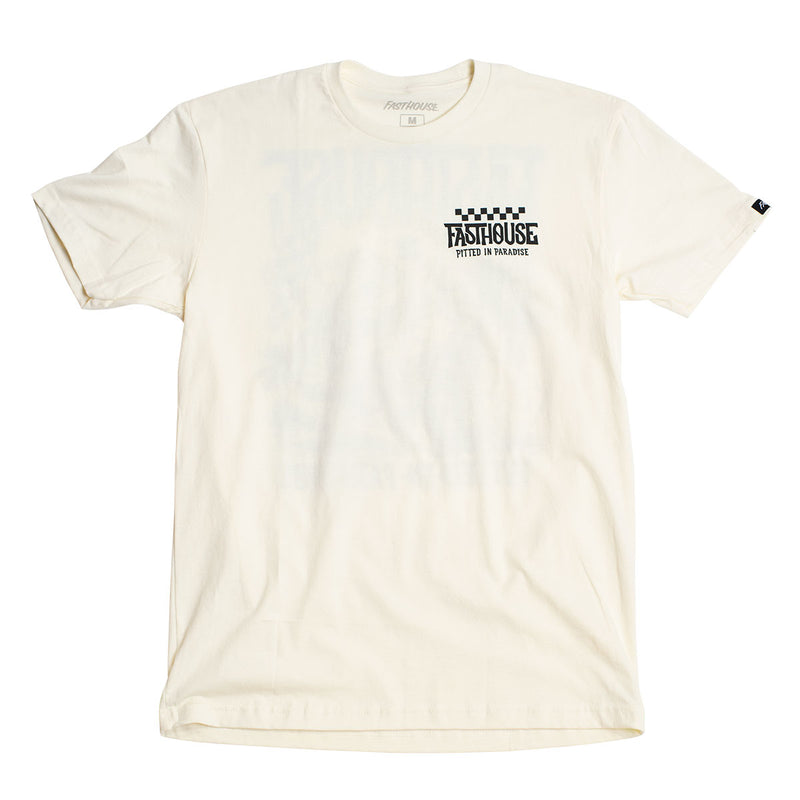 Pitted Tee - Natural