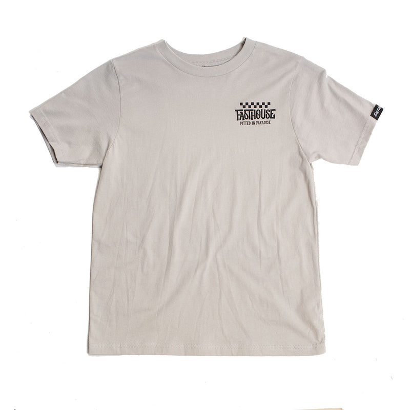 Pitted Youth Tee - Light Gray
