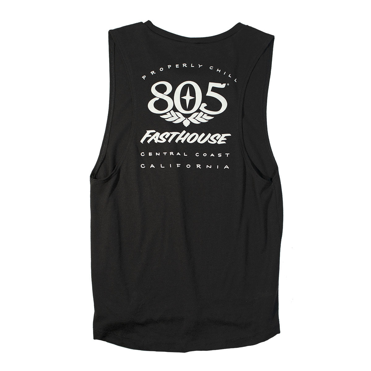 Fasthouse - 805 Prime Womens Muscle Tank - Black