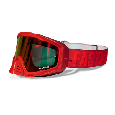 Fasthouse - Fasthouse EKS-S Goggle - Red