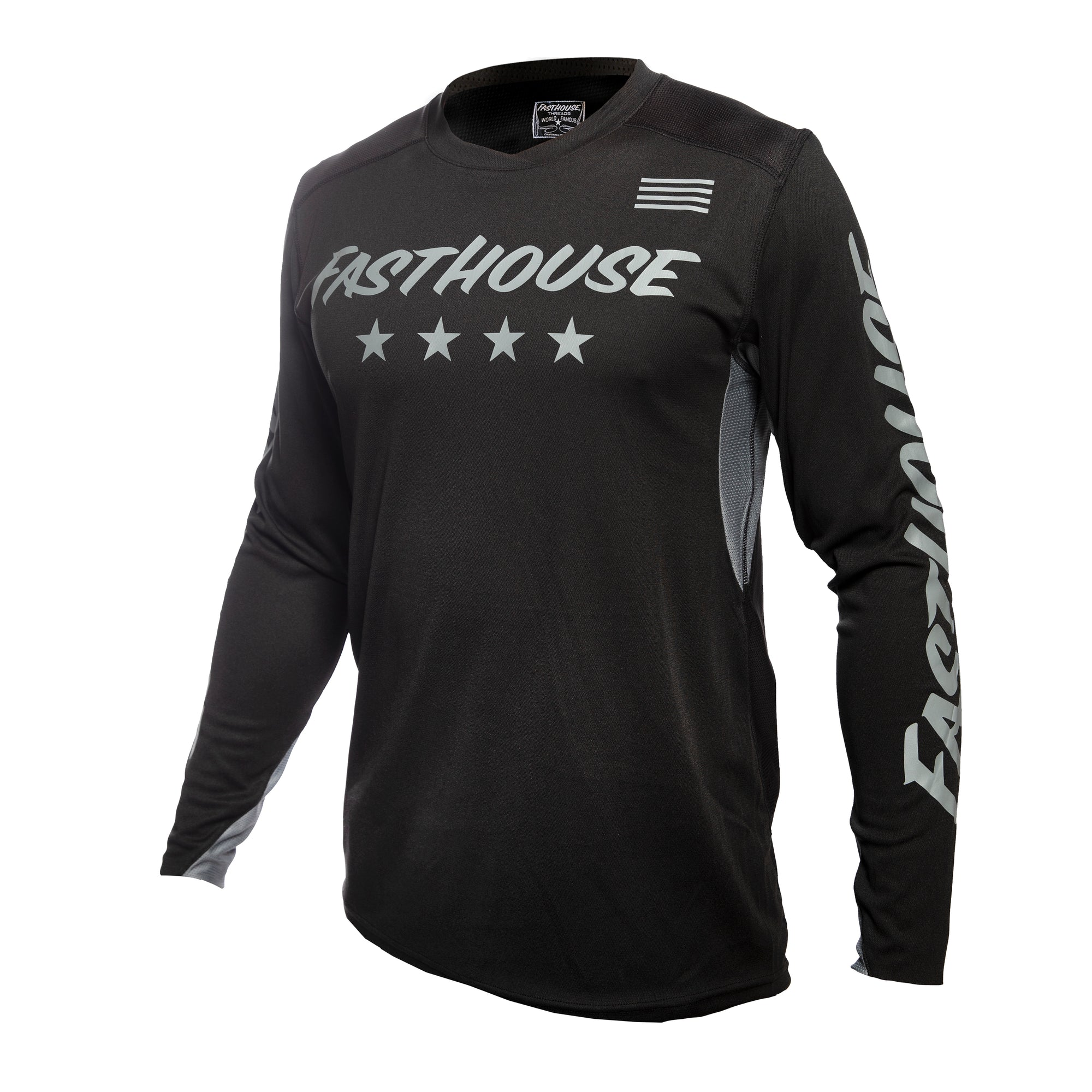 Fasthouse - Raven L1 Jersey - Black/Grey