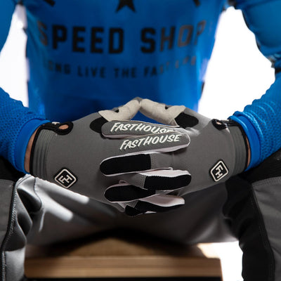 Fasthouse - Speed Style Ridgeline Gloves - Grey/Black