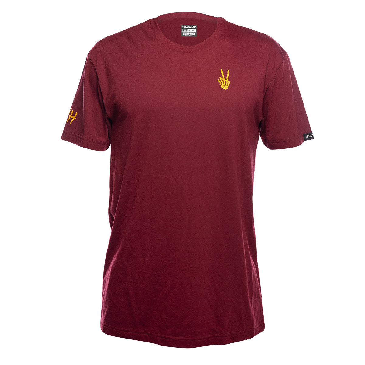 Roots Tech Tee - Maroon