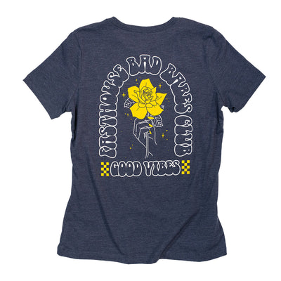 Rosie Womens Tee - Heather Navy
