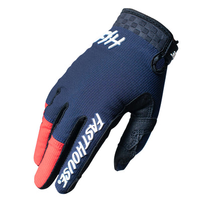 Speed Style Air Glove - Navy/Red