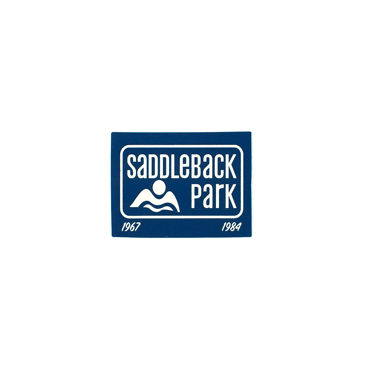 Saddleback Sticker