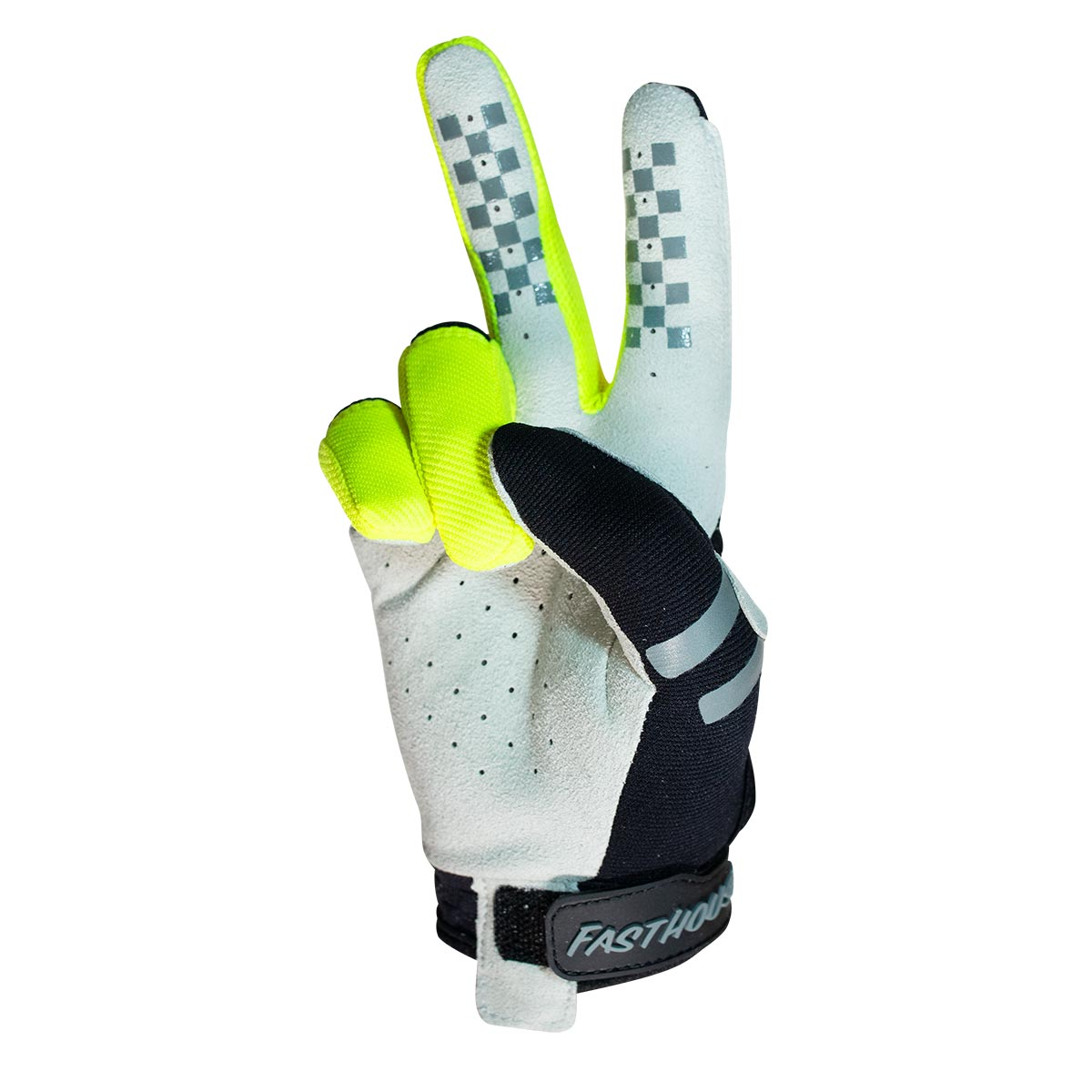 Sector Youth Glove - Back/Hi-Viz