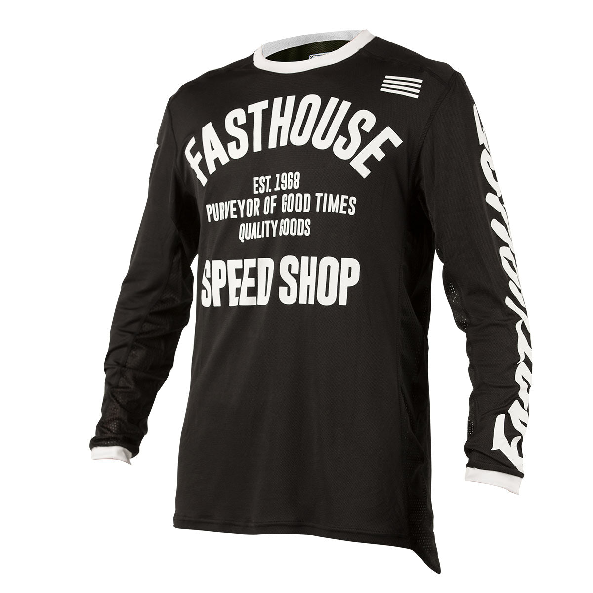 Fasthouse classic l1 jersey black for Classic new jersey house music