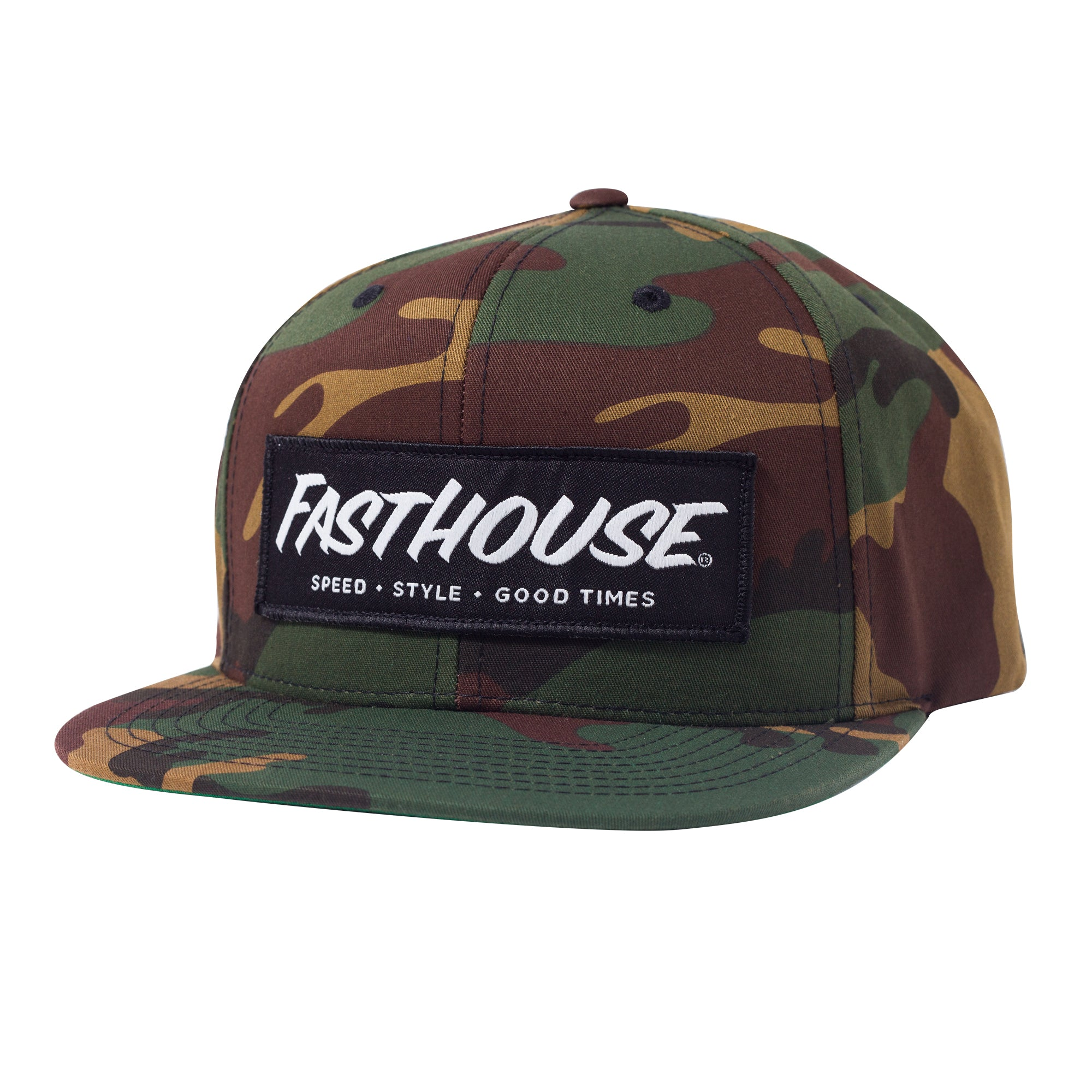 Fasthouse - Speed Style Good Times Hat - Camo