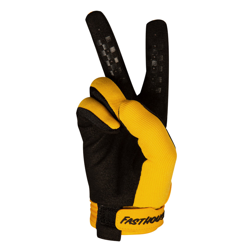 Speed Style Solid Glove - Yellow