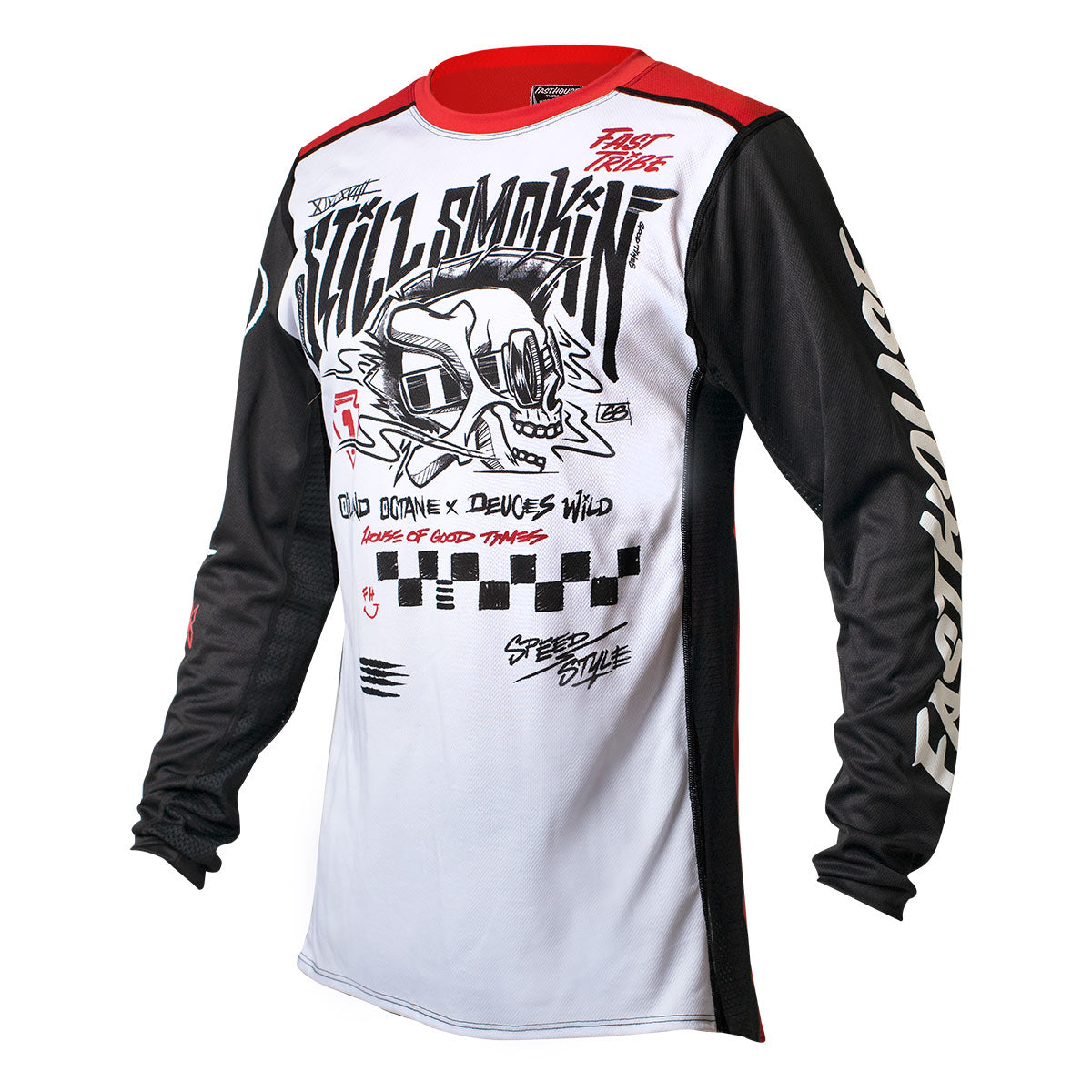 Still Smokin '21 Jersey - White/Red