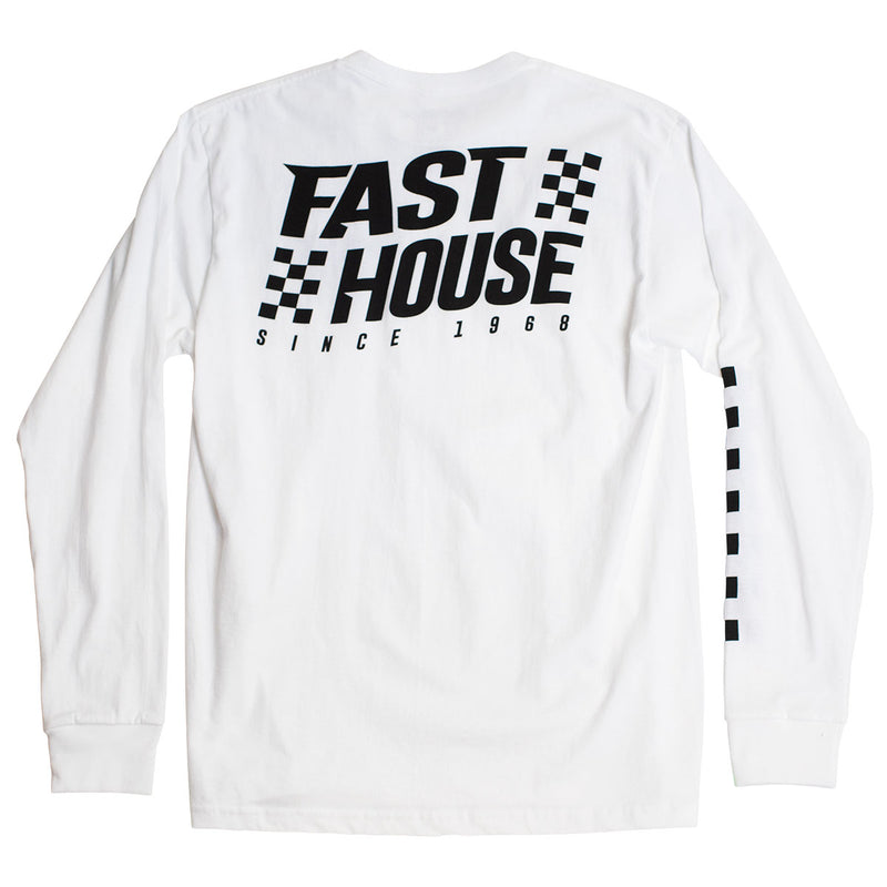 Surge Long Sleeve Tee - White