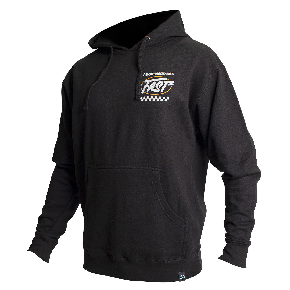 Toll Free Hooded Pullover - Black