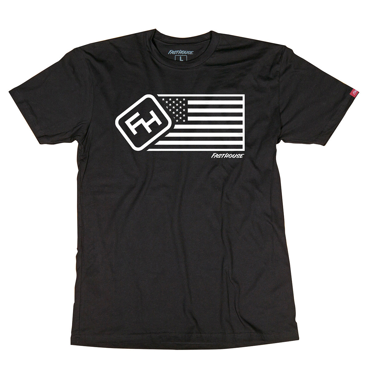 Fasthouse - USA Tee - Black