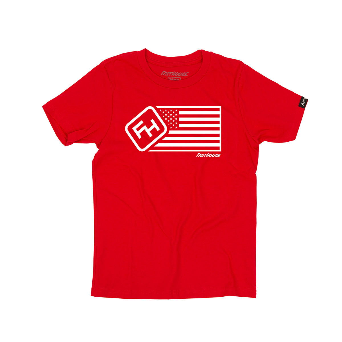 Fasthouse - USA Youth Tee - Red