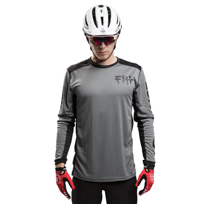 Fasthouse - Fast Bolt MTB Jersey - Heather Grey