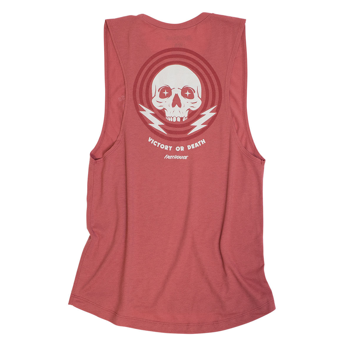 Victory or Death Women's Muscle Tank - Paprika