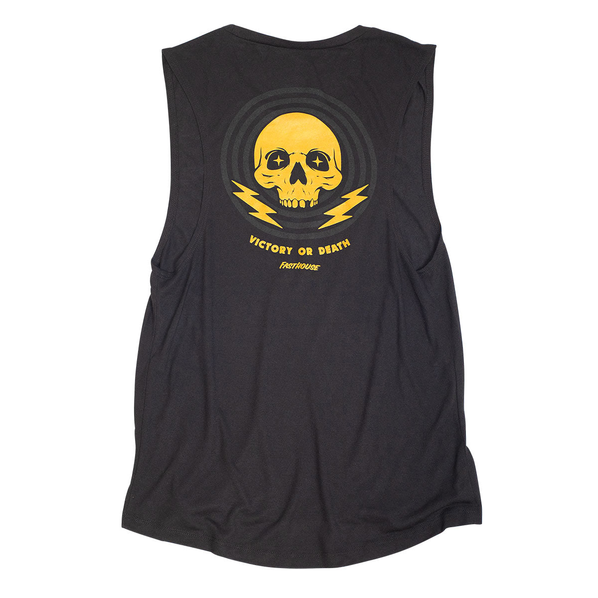 Victory or Death Women's Muscle Tank - Black