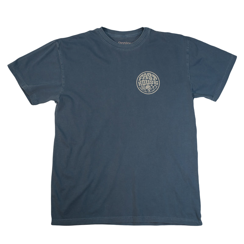 Fasthouse - Waxed Tee - Blue Jean