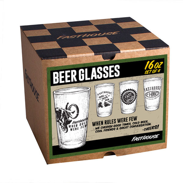 When Rules Were Few Glasses - 4 per box
