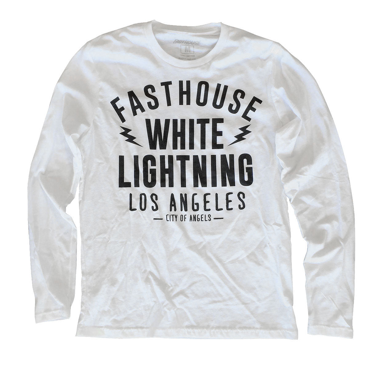 Fasthouse - White Lightning LS Tee - White