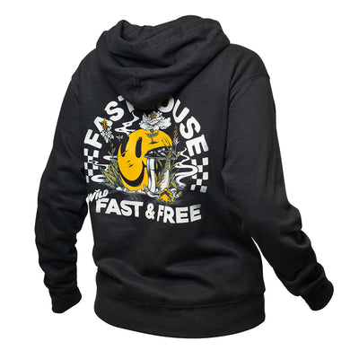 Wild One Women's Hooded Pullover - Black
