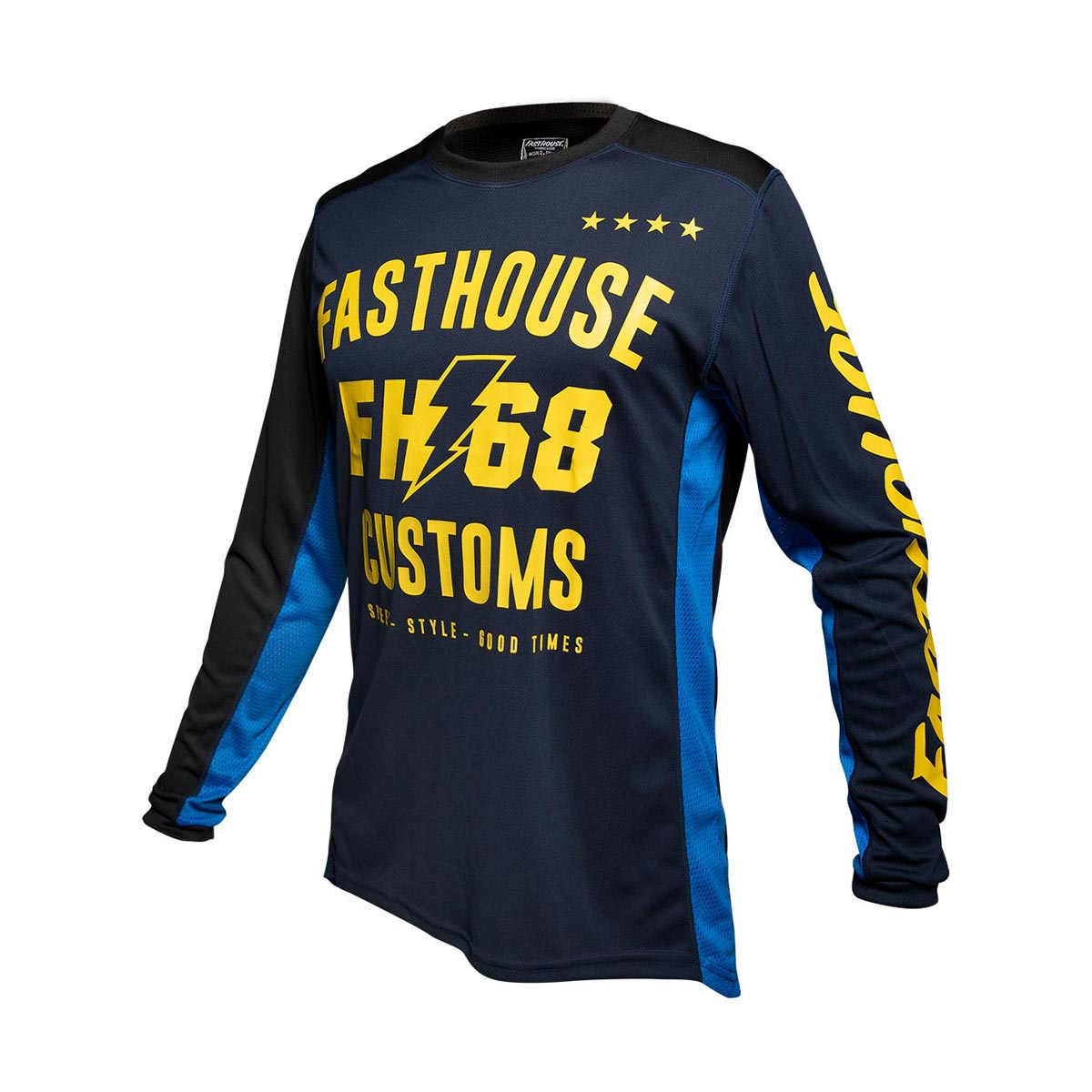 Worx 68 Youth Jersey - Blue/Yellow