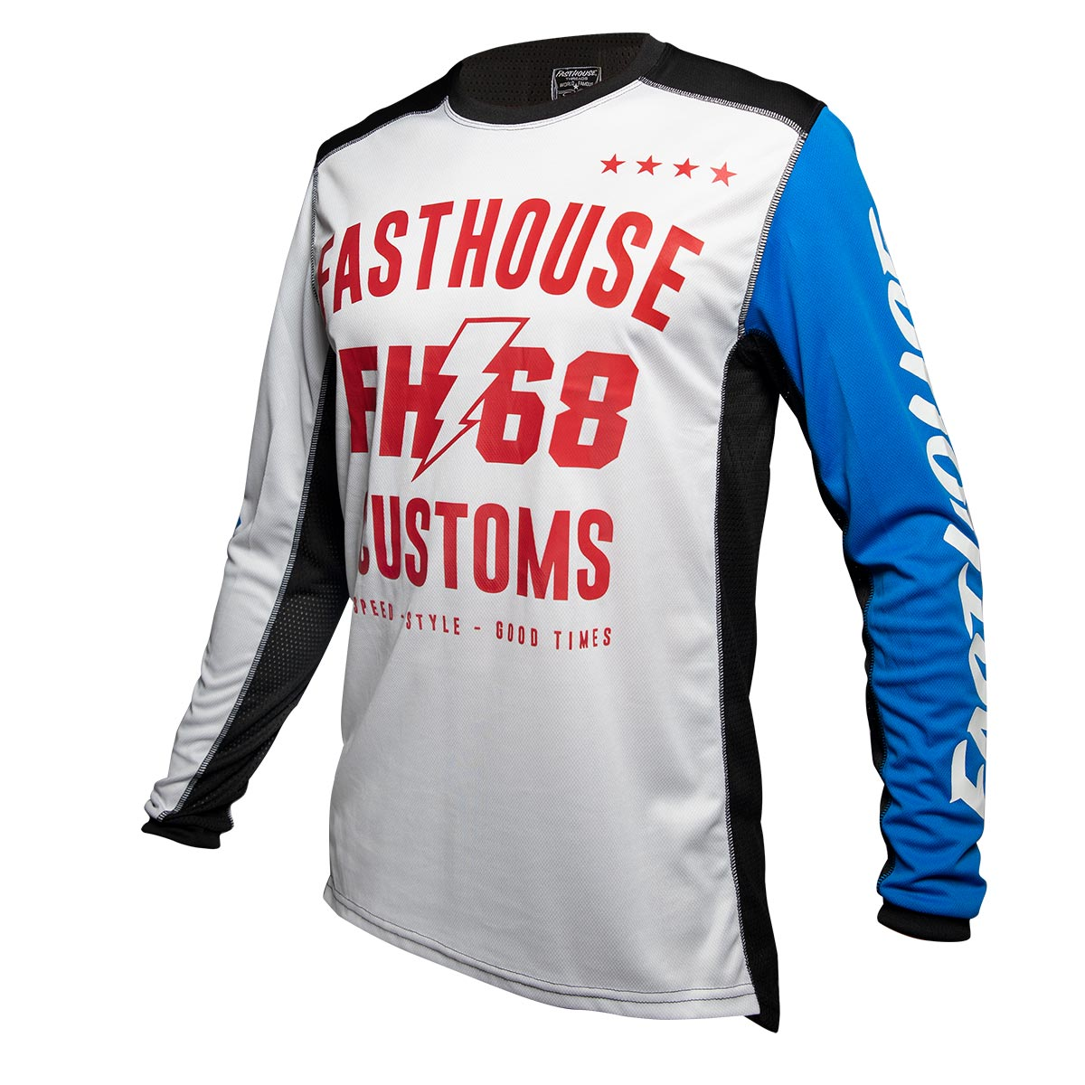 Fasthouse - Worx 68 Jersey - White/Blue