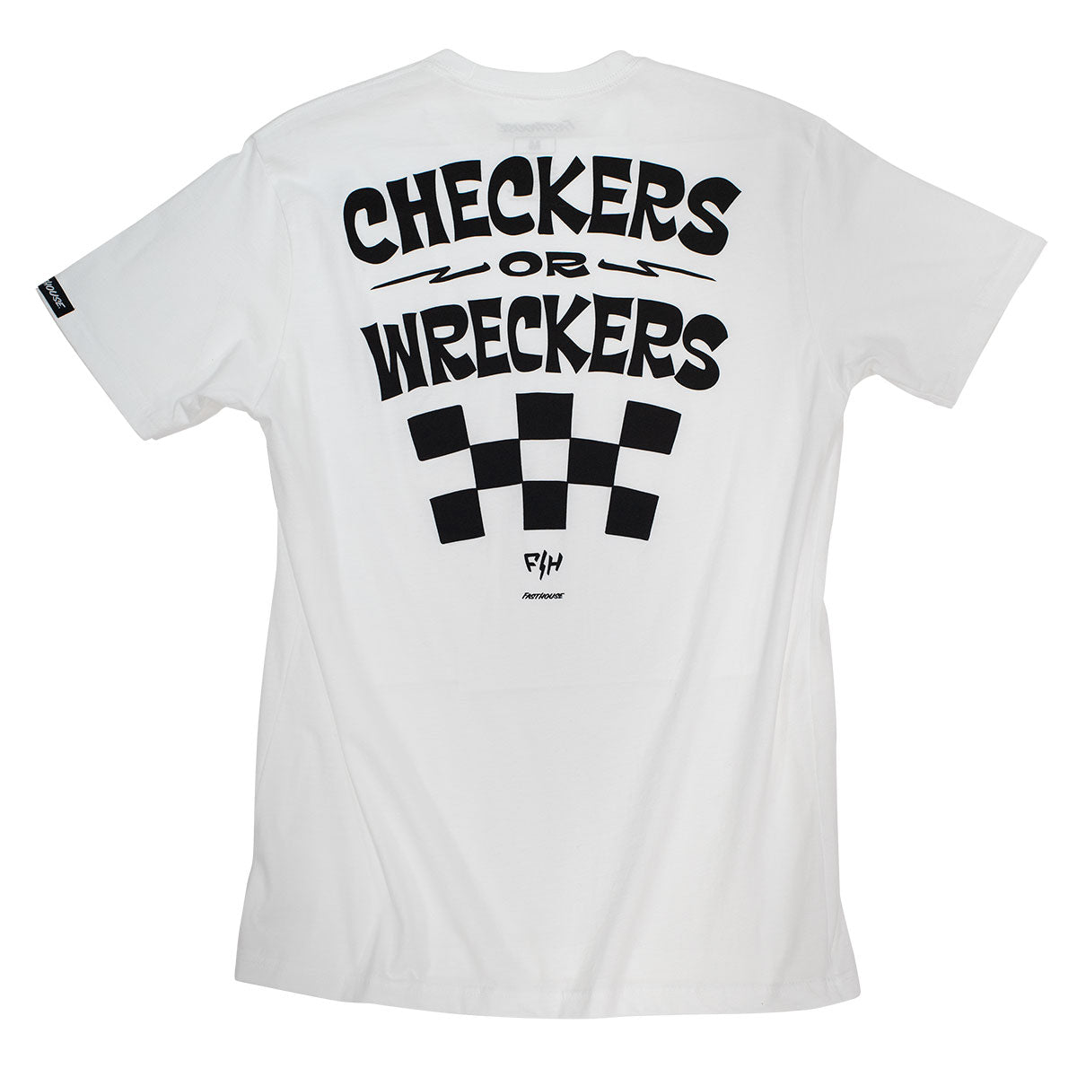 Wreckers Tee - White