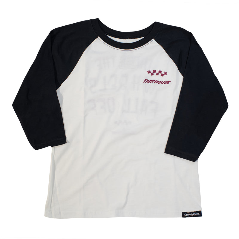 Fasthouse - Acer Raglan Youth Tee - White