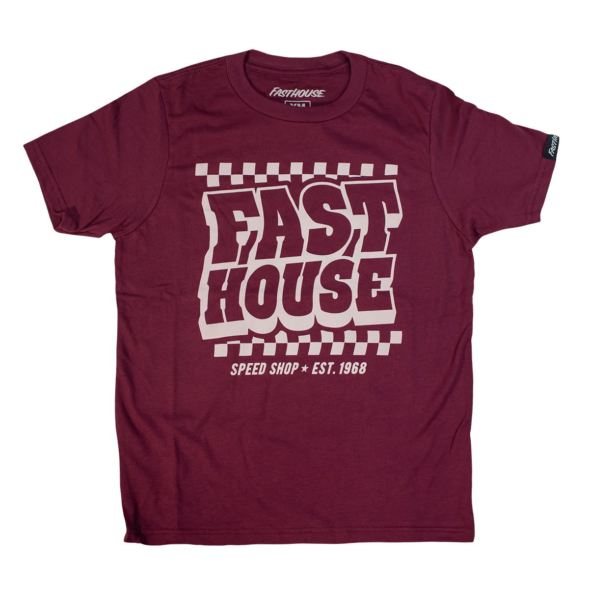 Fasthouse - Drive-In Youth Tee - Maroon