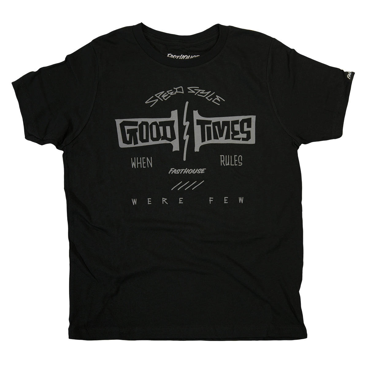 Fasthouse - Elm Youth Tee - Black