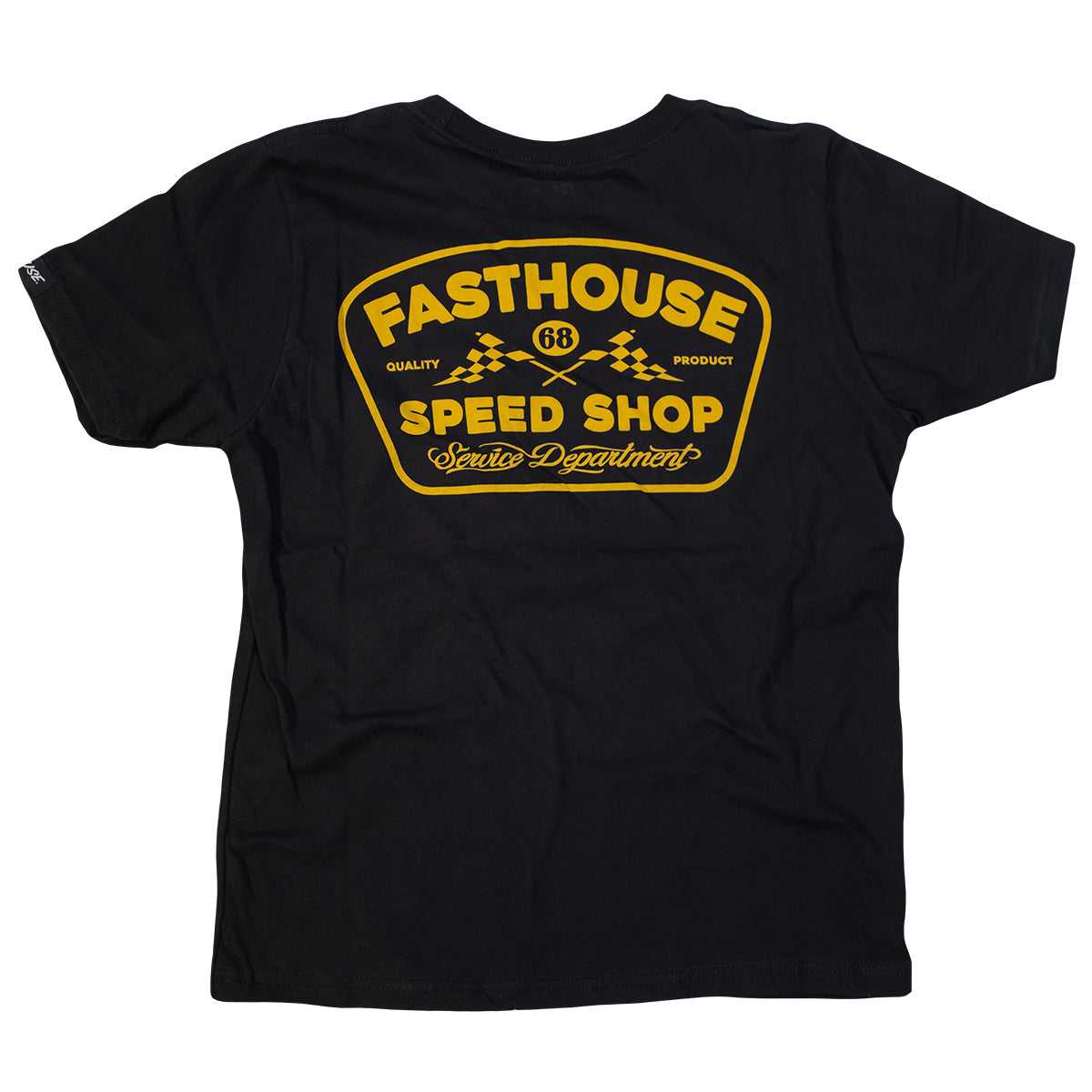 Fasthouse - Grease Monkey Youth Tee - Black
