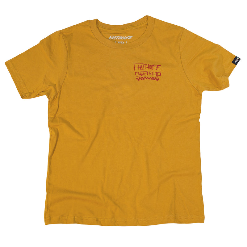 Fasthouse - Midway Youth Tee - Vintage Gold