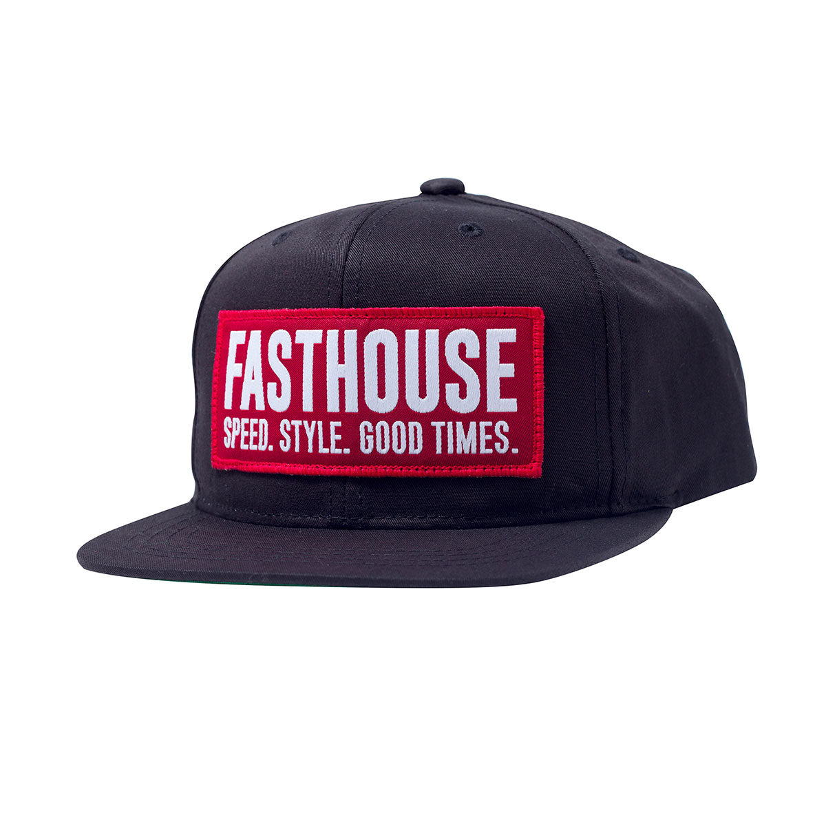 Fasthouse - Blockhouse Youth Hat - Black