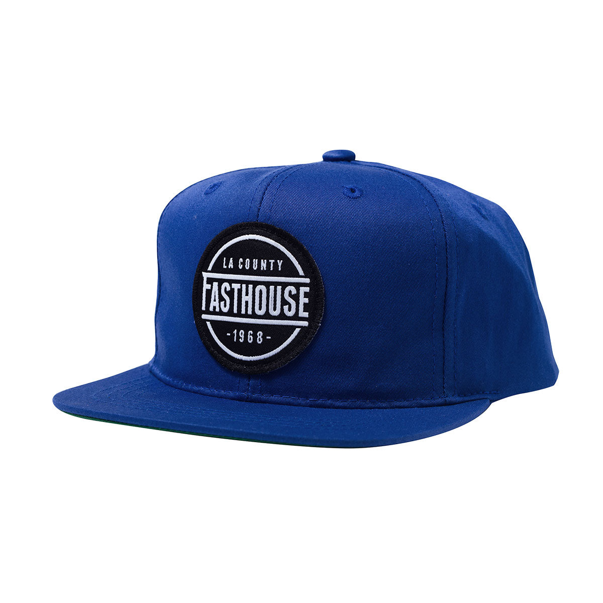 Fasthouse LA County Youth Hat Royal Blue