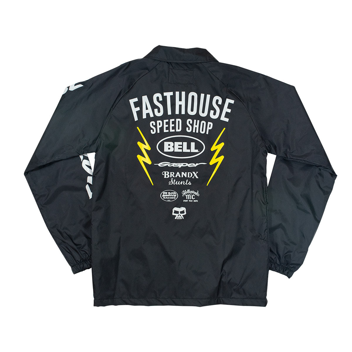 Youth Team Coach Jacket - Black