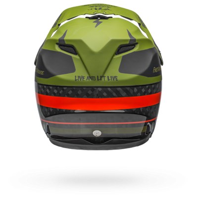 Fasthouse - Bell Full 9 MTB Helmet - Green/Orange