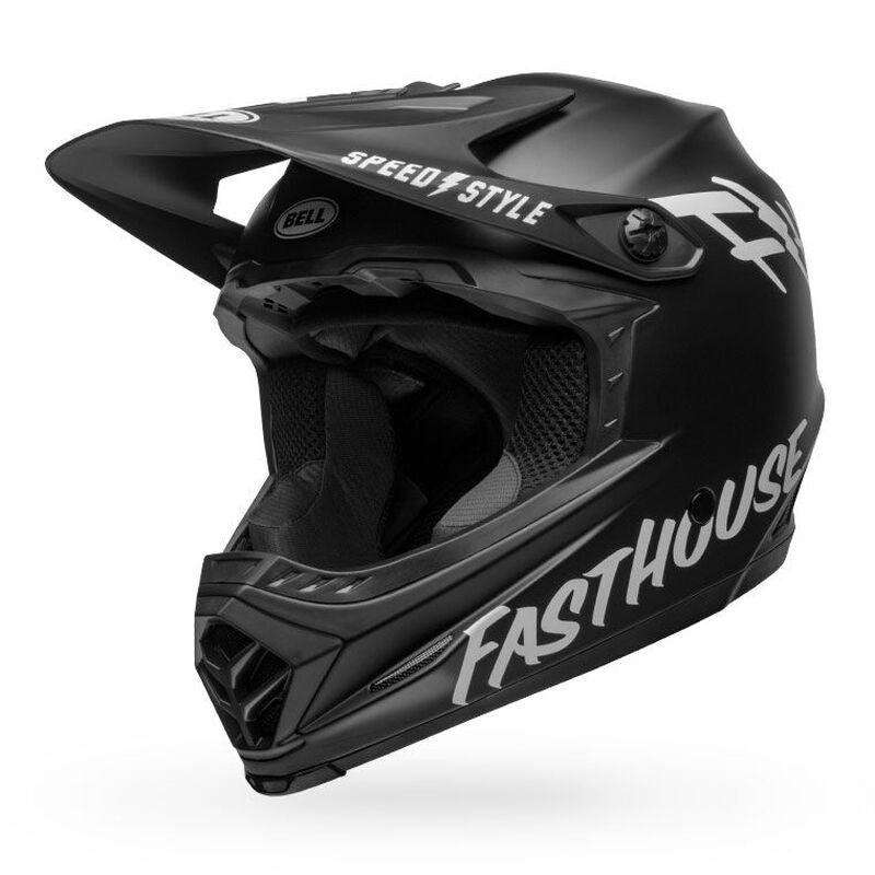Bell Moto 9 MIPS Youth Helmet - Black/White