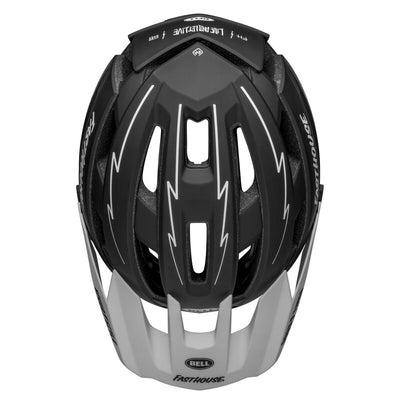 Bell Super Air Spherical - Matte Black/White