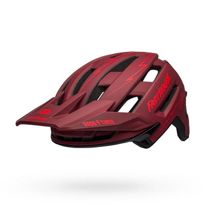 Bell Super Air Spherical - Matte Red/Black