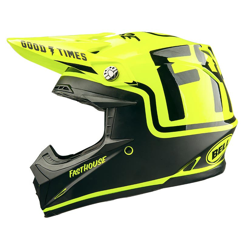 Fasthouse - MC / Bell Moto 9 Helmet - Flo Yellow