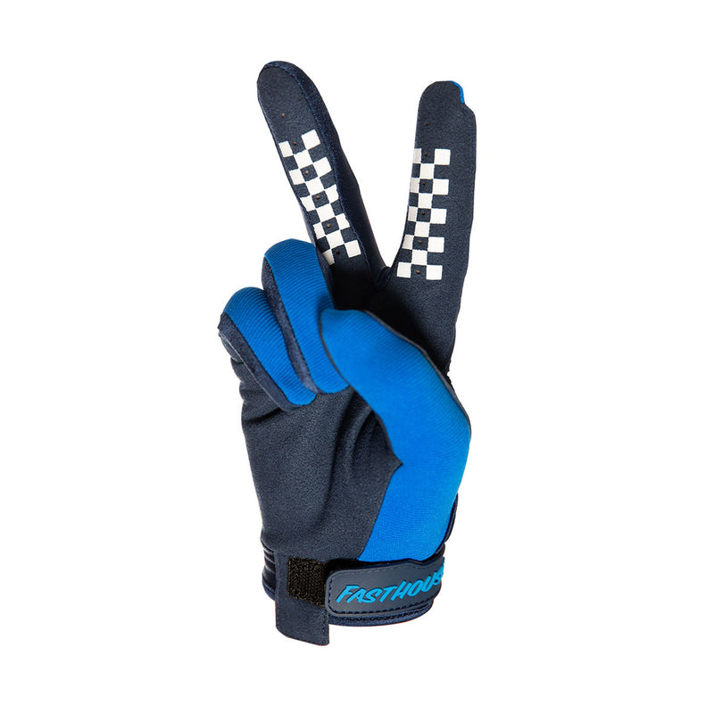 Fasthouse - Speed Style Blockhouse Youth Glove - Blue
