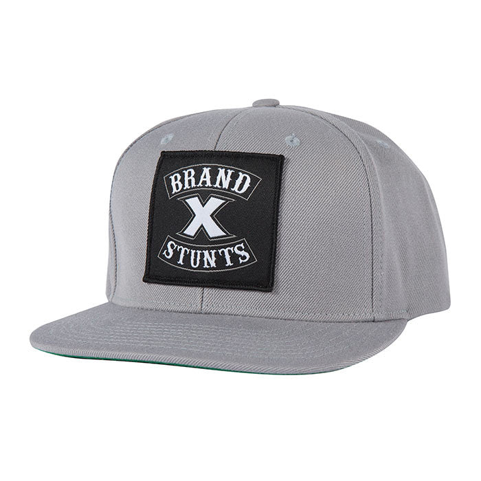 Fasthouse - Brand X Crew Hat - Grey